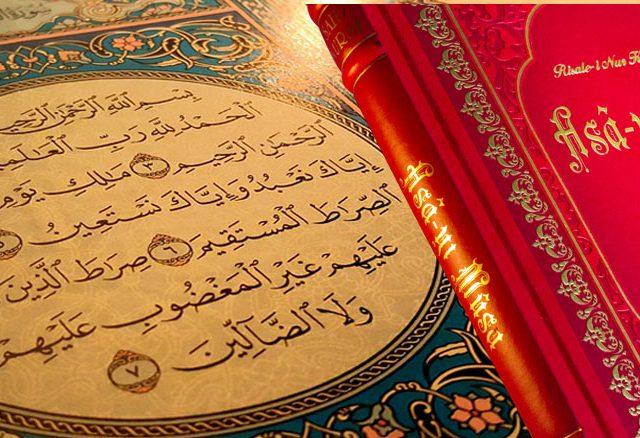 Risale-i Nur, Kur'ân'ı baştan sona tefsir etmiştir