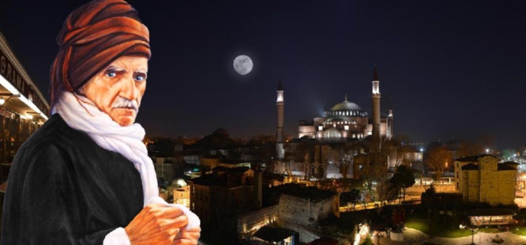 Bediuzzaman-istanbul-ayasofya